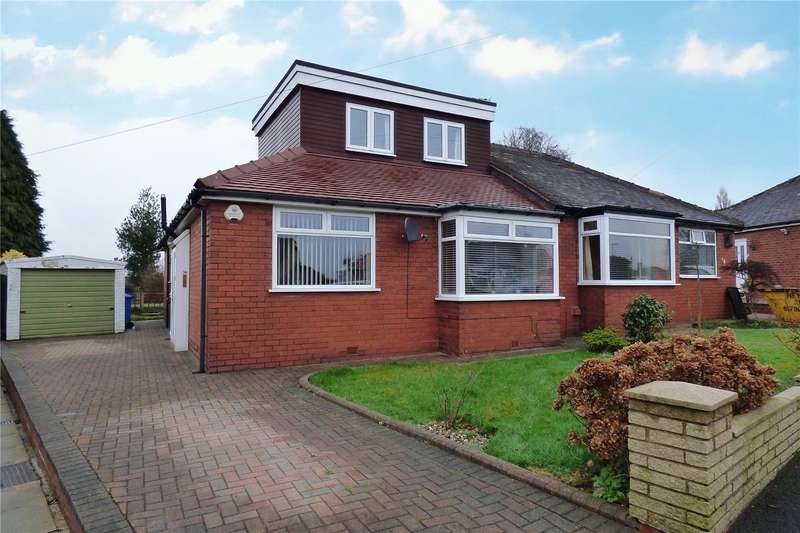 3 Bedrooms Semi Detached Bungalow for sale in Trent Avenue, Chadderton, Oldham, Greater Manchester, OL9