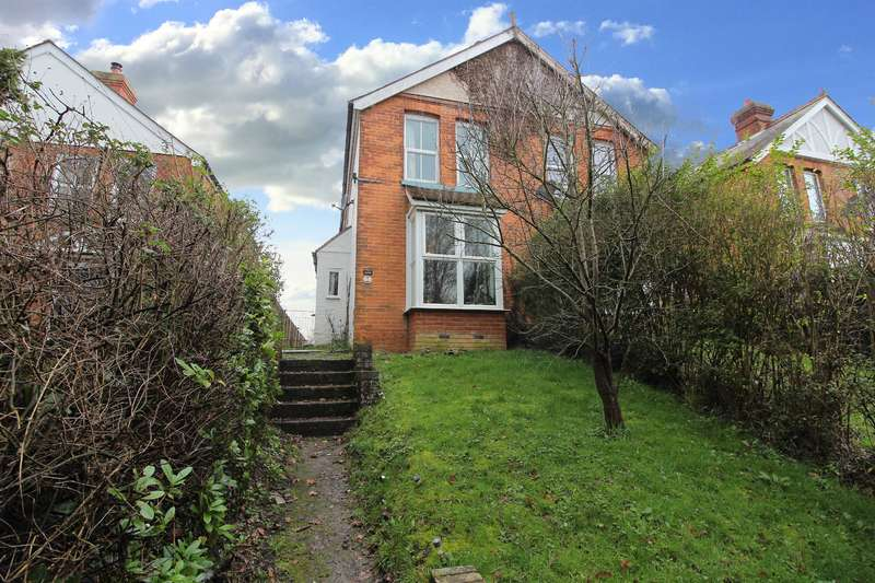 2 Bedrooms Semi Detached House for sale in HAMSTREET