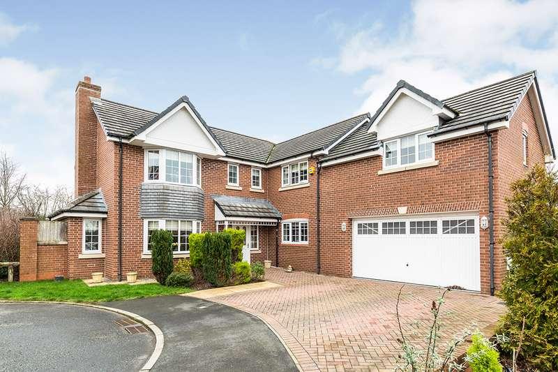 5 Bedrooms Detached House for sale in The Hawthorns, Cabus, Preston, Lancashire, PR3