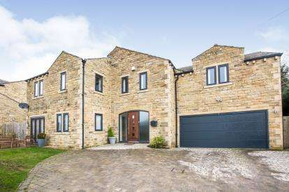5 Bedrooms Detached House for sale in Scausby Mansions, Halifax, West Yorkshire