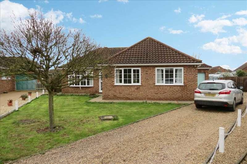 3 Bedrooms Detached Bungalow for sale in Churchview Close, Heckington