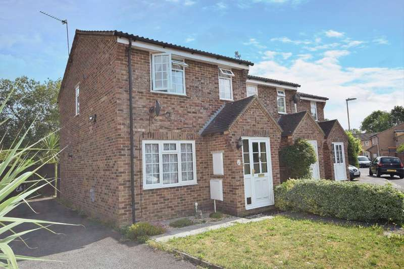 3 Bedrooms End Of Terrace House for sale in Chineham, Basingstoke, RG24
