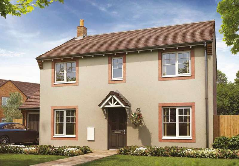 4 Bedrooms Detached House for sale in Plot 127, The Whitford, Meadowbrook, Durranhill, Carlisle, CA1