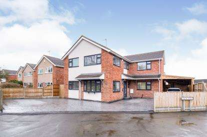 4 Bedrooms Detached House for sale in Groby Road, Ratby, Leicester, Leicestershire