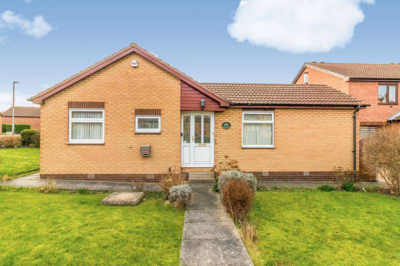 2 Bedrooms Detached Bungalow for sale in Coppice Gardens, Rotherham, South Yorkshire, S61