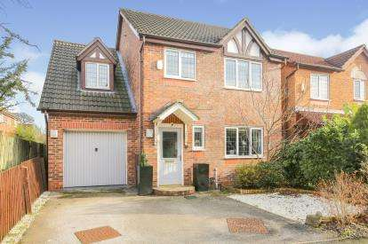 4 Bedrooms Detached House for sale in Oakcroft Way, Sharston, Manchester, Greater Manchester