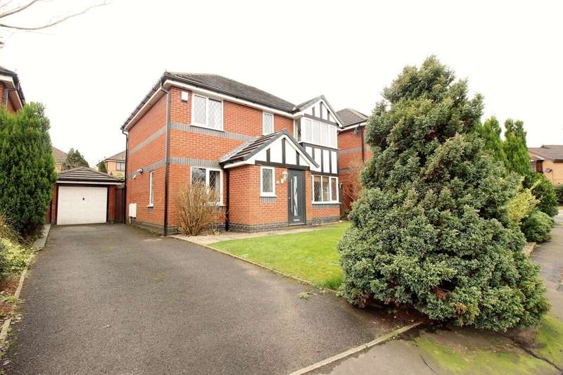 4 Bedrooms Detached House for sale in Old Gates Drive, Blackburn, BB2