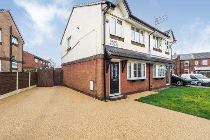 3 Bedrooms Semi Detached House for sale in Maunby Gardens, Little Hulton, Manchester, Greater Manchester
