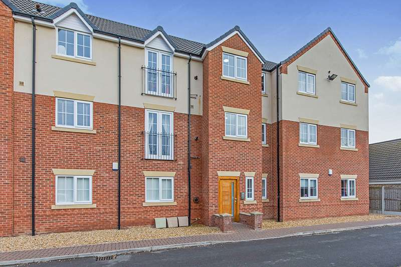 2 Bedrooms Flat for sale in Mulberry Court, Fir Tree Avenue, DN9