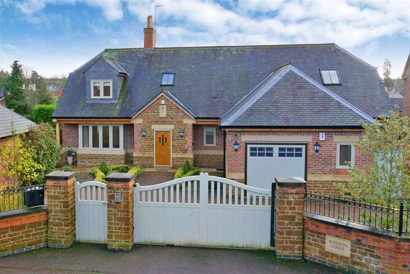 3 Bedrooms Detached House for sale in Knights Close, Billesdon