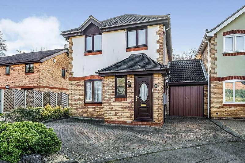 3 Bedrooms Detached House for sale in Bartley Woods, Birmingham, West Midlands, B32