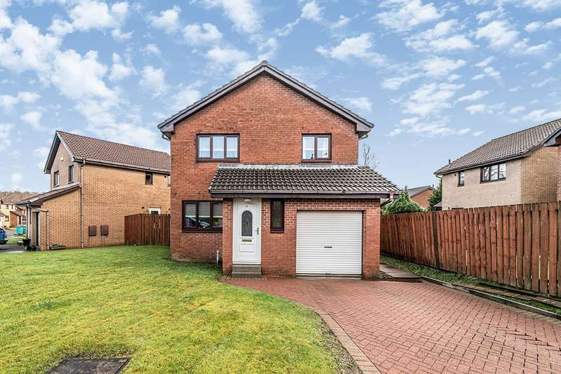 3 Bedrooms Detached House for sale in Gartshore Gardens, Cumbernauld, Glasgow, North Lanarkshire, G68