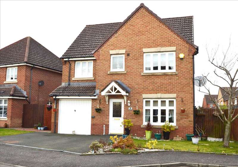4 Bedrooms Detached House for sale in Charn Terrace, Motherwell