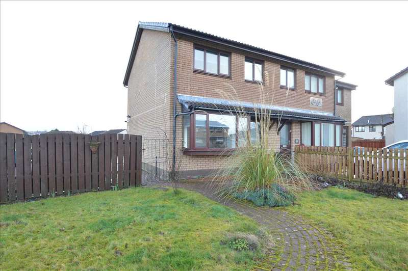 3 Bedrooms Semi Detached House for sale in Sherry Avenue, Holytown