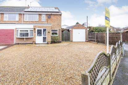 3 Bedrooms Semi Detached House for sale in Avenue Road, Queniborough, Leicester, Leicestershire