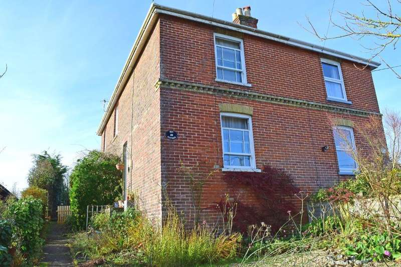 3 Bedrooms Semi Detached House for sale in Station Road, St Helens, Isle of Wight, PO33 1YF