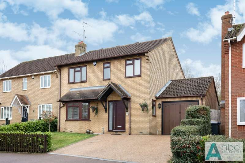 4 Bedrooms Detached House for sale in The Elms, Hertford, SG13