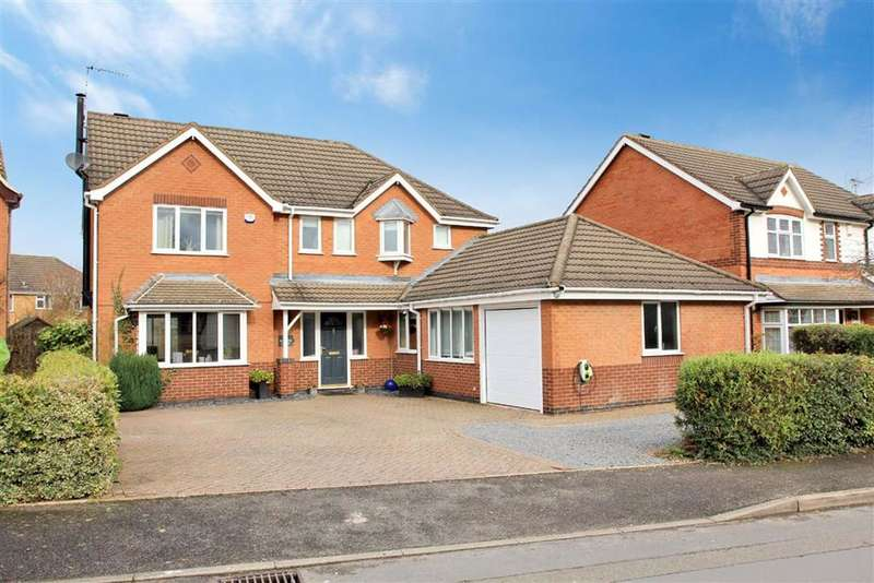 4 Bedrooms Detached House for sale in Barons Close, Kirby Muxloe, Leicestershire