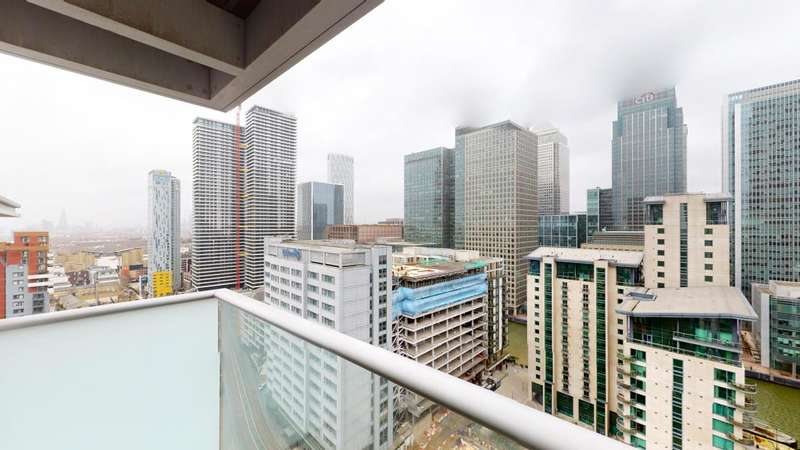 2 Bedrooms Flat for sale in Pan Peninsula, Canary Wharf, E14