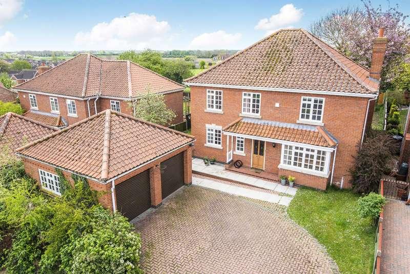 4 Bedrooms Detached House for sale in Glebe Rise, Burgh Le Marsh, Skegness, PE24 5BL