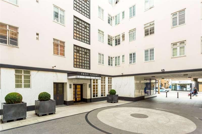 2 Bedrooms Flat for sale in Troy Court, Kensington High Street, London, W8