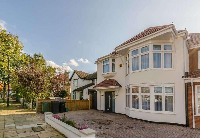4 Bedrooms Semi Detached House for sale in The Ridgeway, Kenton, HA3