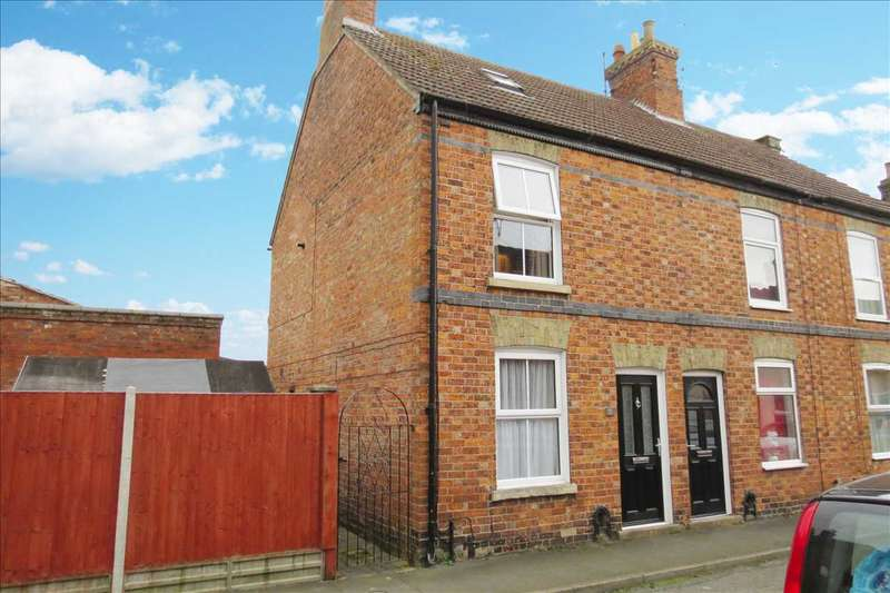 2 Bedrooms End Of Terrace House for sale in Thomas Street, Sleaford