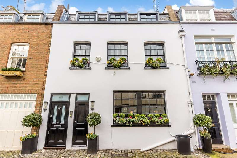 3 Bedrooms Mews House for sale in Eaton Mews West, London, SW1W