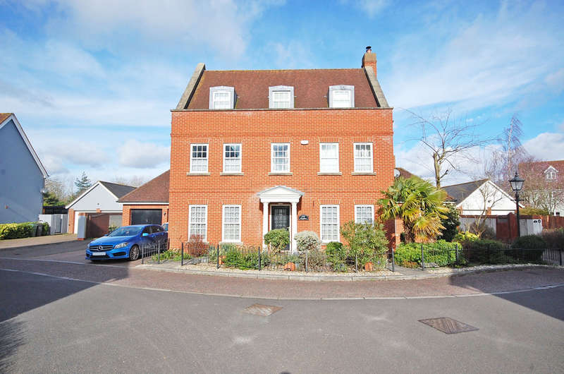 5 Bedrooms Detached House for sale in Mary Ruck Way, Black Notley, Braintree, CM77
