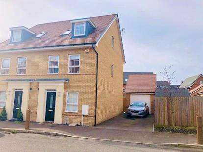 4 Bedrooms Semi Detached House for sale in Bank Avenue, Dunstable, Bedfordshire