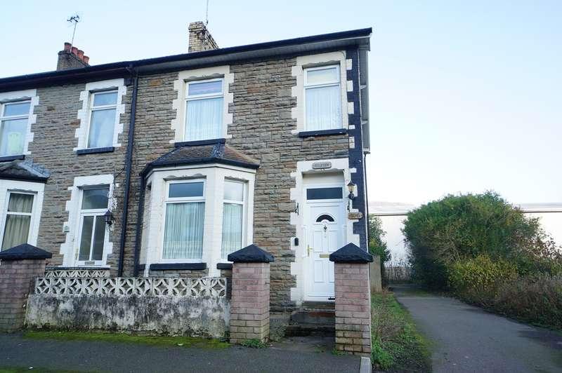 3 Bedrooms End Of Terrace House for sale in Tredegar Street, Cross Keys, Newport, NP11
