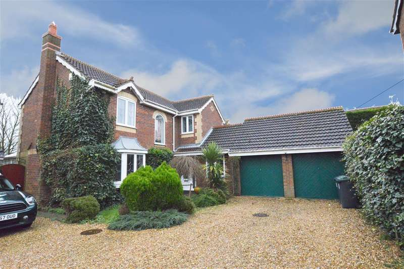 4 Bedrooms Detached House for sale in Barnes Close, Holdingham, Sleaford