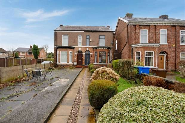 4 Bedrooms Semi Detached House for sale in Worsley Road, Eccles, Manchester