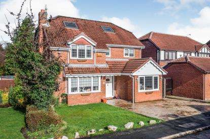 4 Bedrooms Detached House for sale in Parklands, Widnes, Cheshire, WA8