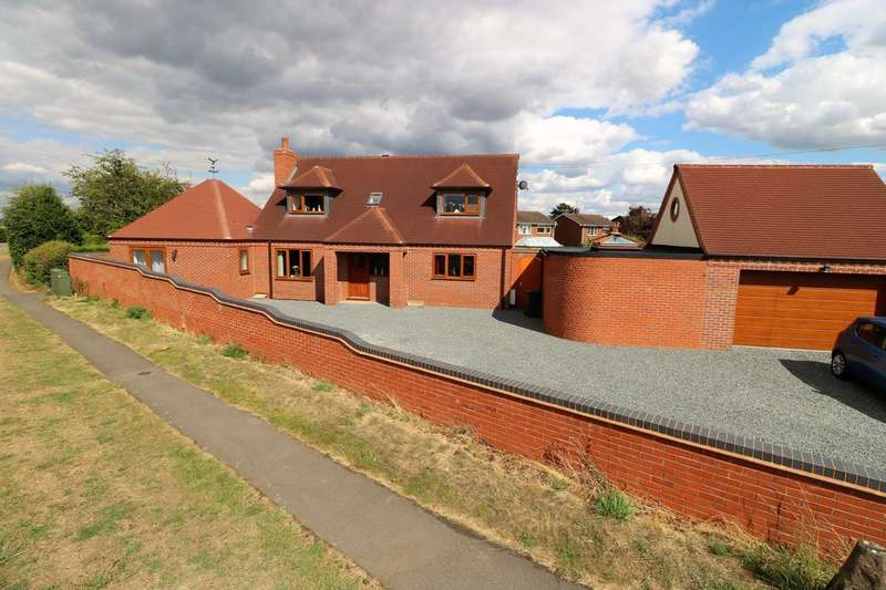 3 Bedrooms Detached House for sale in Leicester Road, Ibstock