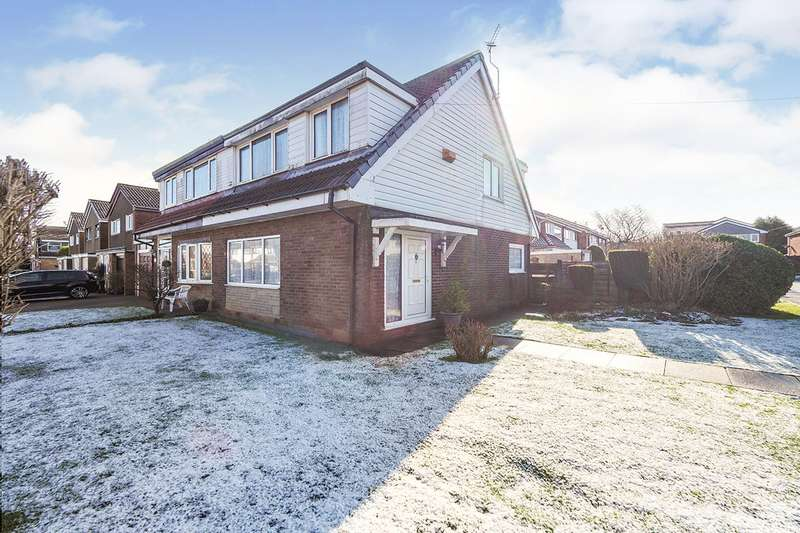 3 Bedrooms Semi Detached House for sale in Meriden Close, Radcliffe, Manchester, Greater Manchester, M26