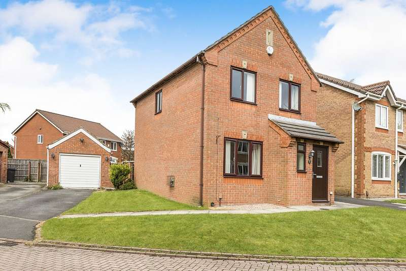 3 Bedrooms Detached House for sale in Lowesby Close, Walton-le-Dale, Preston, Lancashire, PR5