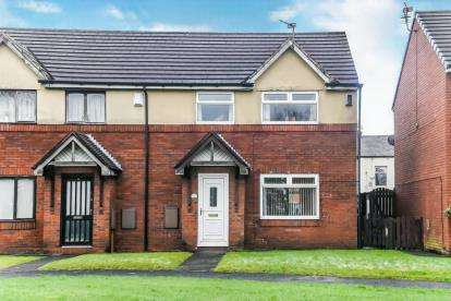 3 Bedrooms Semi Detached House for sale in Chapel Gardens, Audenshaw, Manchester, Greater Manchester