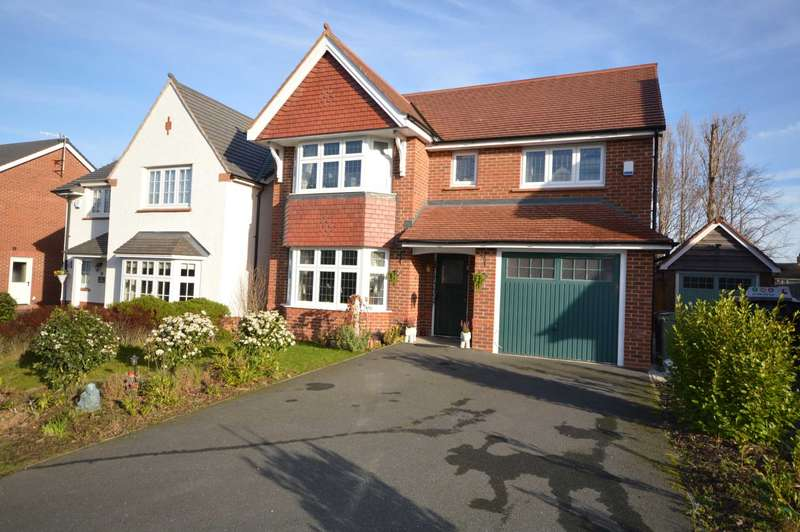 4 Bedrooms Detached House for sale in Hulme Close, Bromborough