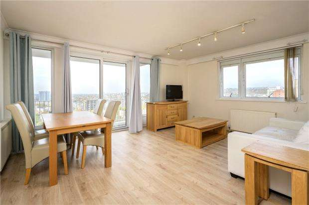 2 Bedrooms Apartment Flat for sale in Buttermere Court, Boundary Road, London, NW8