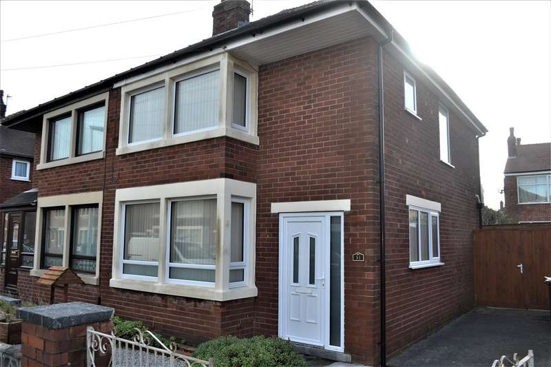 2 Bedrooms Semi Detached House for sale in Primrose Avenue, Blackpool