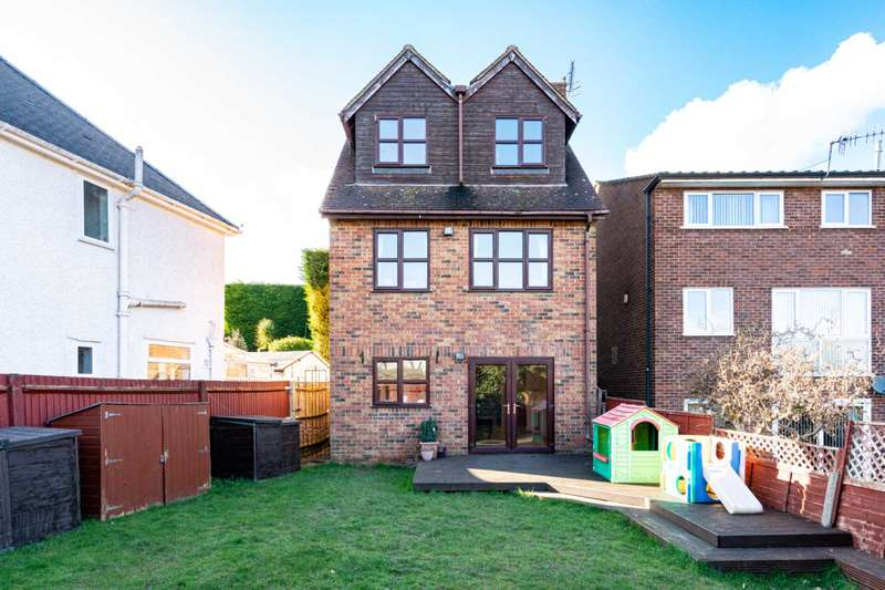 4 Bedrooms Detached House for sale in OVER 1600 SQ FT, Arranged Over 3 Floors, DRIVEWAY PARKING