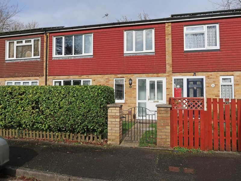 3 Bedrooms Terraced House for sale in Harlech Close, Basingstoke RG23