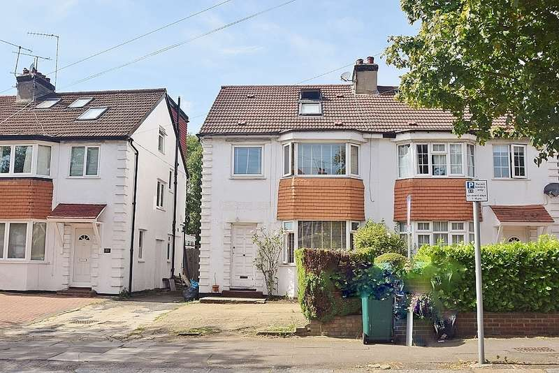 4 Bedrooms Semi Detached House for sale in Holders Hill Road, Mill Hill East, London, NW7