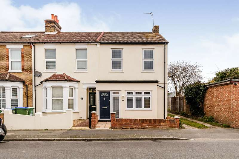 2 Bedrooms End Of Terrace House for sale in Palmeira Road, Bexleyheath, DA7