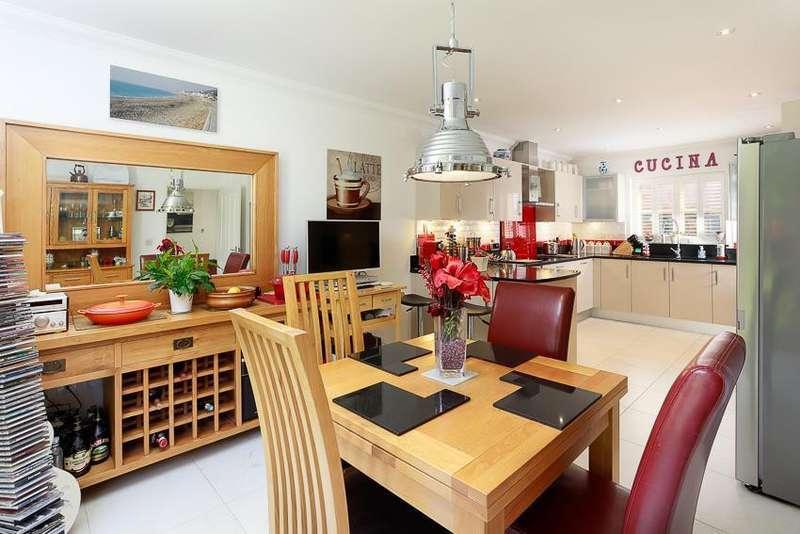 3 Bedrooms Detached House for sale in Henbury Manor, Henbury Lane, Elham, Nr Canterbury, CT4
