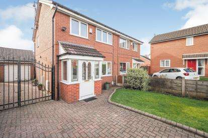 3 Bedrooms Semi Detached House for sale in Hopefold Drive, Worsley, Manchester, Greater Manchester