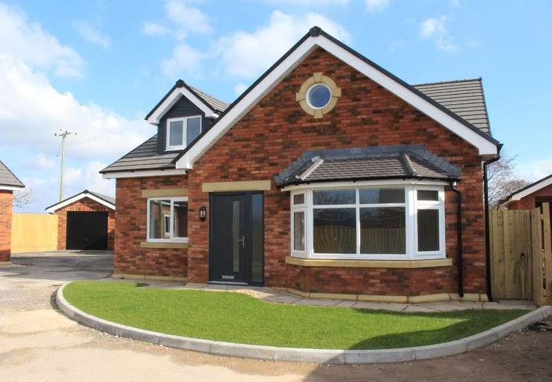 4 Bedrooms Detached House for sale in Briarcliffe Gardens, Gubberford Lane, Cabus, Preston, PR3 1PS