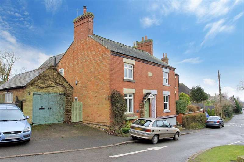 3 Bedrooms Semi Detached House for sale in Main Street, Houghton On The Hill, Leicestershire
