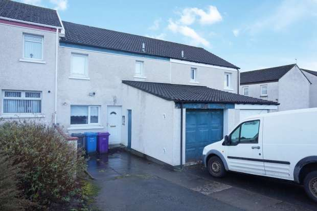 Terraced House for sale in Bencleuch Place, Bourtreehill South, Ayrshire, KA11 1EL
